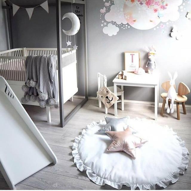 Babydecke Winter Weiche Decken Spiel Kids Teppich Baby Bettwasche