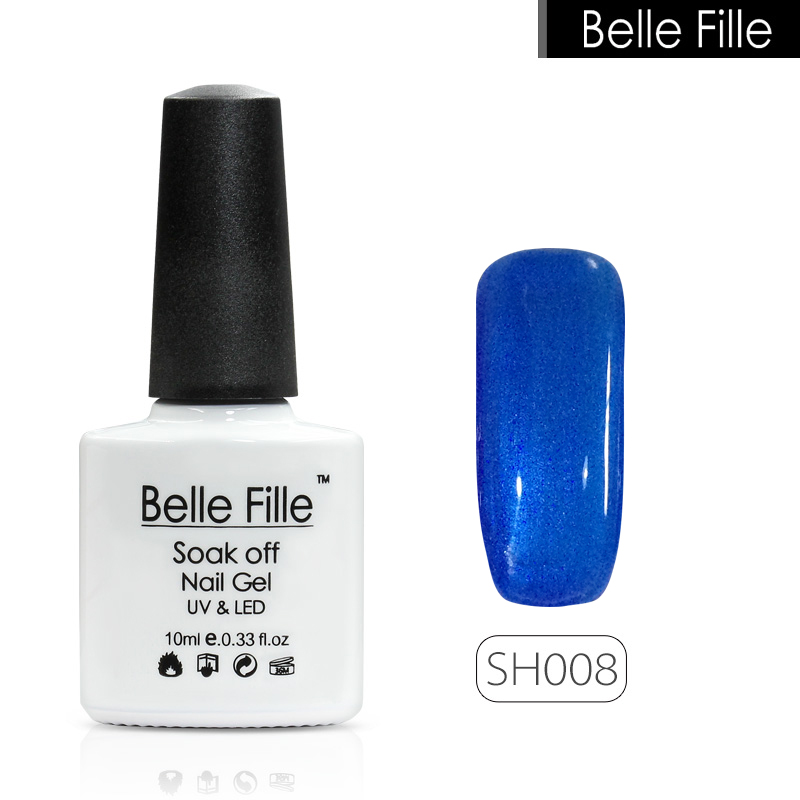 Belle Fille Shell 10мл Shell Gel Nail Polish 12 - Маникюр - фото 5
