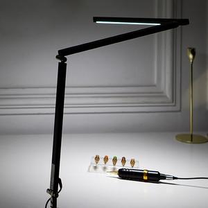 Image 3 - EZ 직업적인 귀영 나팔 빛 LED 책상 램프 귀영 나팔 & 영원한 메이크업 예술가를위한 조정 가능한 경량 귀영 나팔 램프
