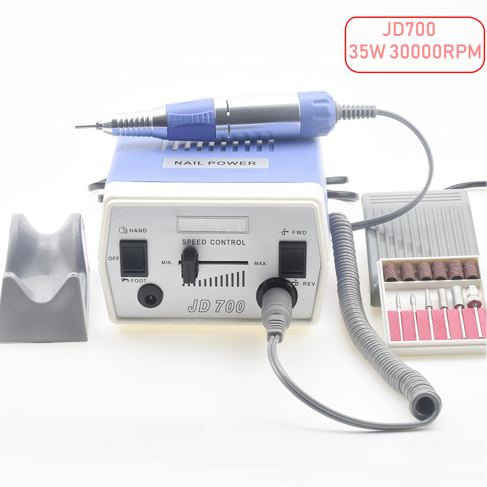 35W 30000RPM Electric Nail Drill Machine Manicure Pedicure Files Tools Kit Nail Polisher Grinding Glazing Machine For Gel Polish electric drill machine file drill set kit for acrylic gel nail art polisher sets glazing