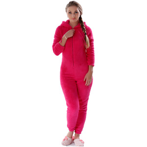 Image 2 - Winter Warm Pyjamas Women Plus Size Sleepwear Female Kingurumi Teddy Fleece Pajamas Plush Flannel Pajamas Sets For Women Adults