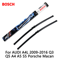 2pcs Lot Bosch Car AEROTWIN Wipers Windshield Wiper Blades Dedicated Wipers For AUDI A4L 2009 2016
