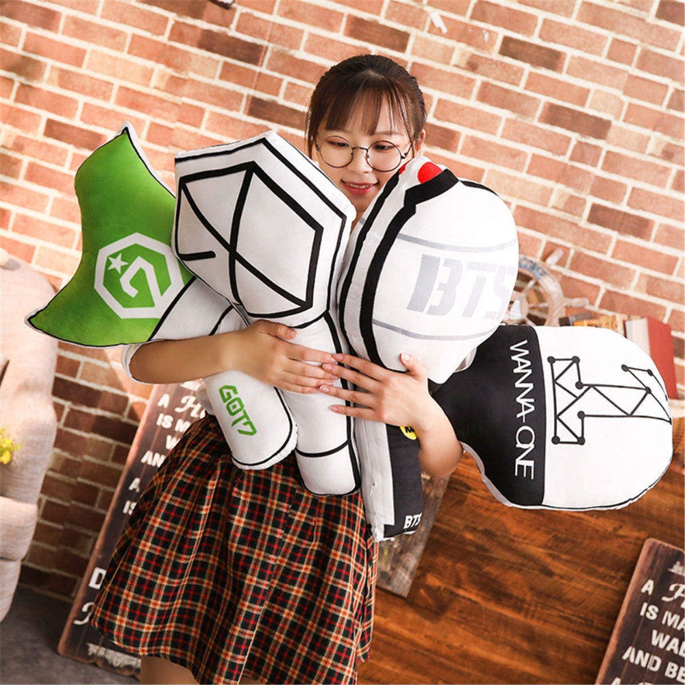 Novelty & Special Use Costumes & Accessories Humor Kpop Bts Exo Got7 Twice Army Light Stick Plush Wands Throw Pillow Cute Sofa Cushion New 2018 Fashion