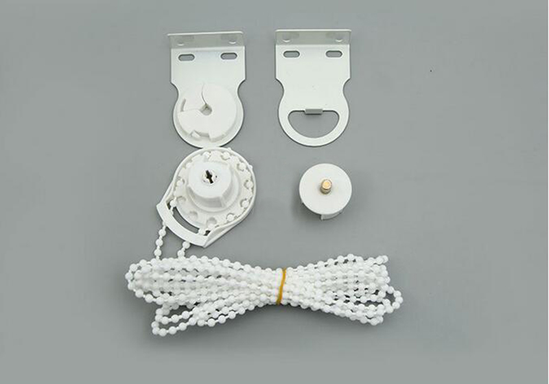 RHYLINE Window Treatments Hardware Roller Blind Shade  DIY Bracket Bead Chain 28mm & 38mm Kit Control Ends