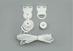 Rhyline window treatments hardware roller blind shade diy bracket bead chain 28mm 38mm kit control ends.jpg 250x250