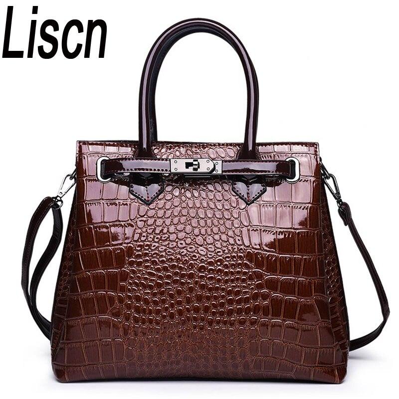 509b10910b Sac femme luxe haute qualité classique motif crocodile sac à main marque  designer grande capacité OL
