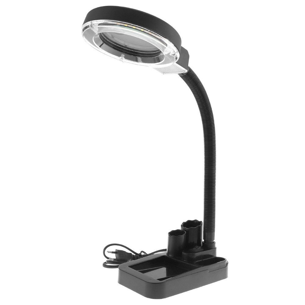 Aliexpress buy 5w high brightness 30 led magnifying crafts aliexpress buy 5w high brightness 30 led magnifying crafts glass desk lamp with 5x 20x magnifier loupe and pen holder for reading repairing from geotapseo Gallery