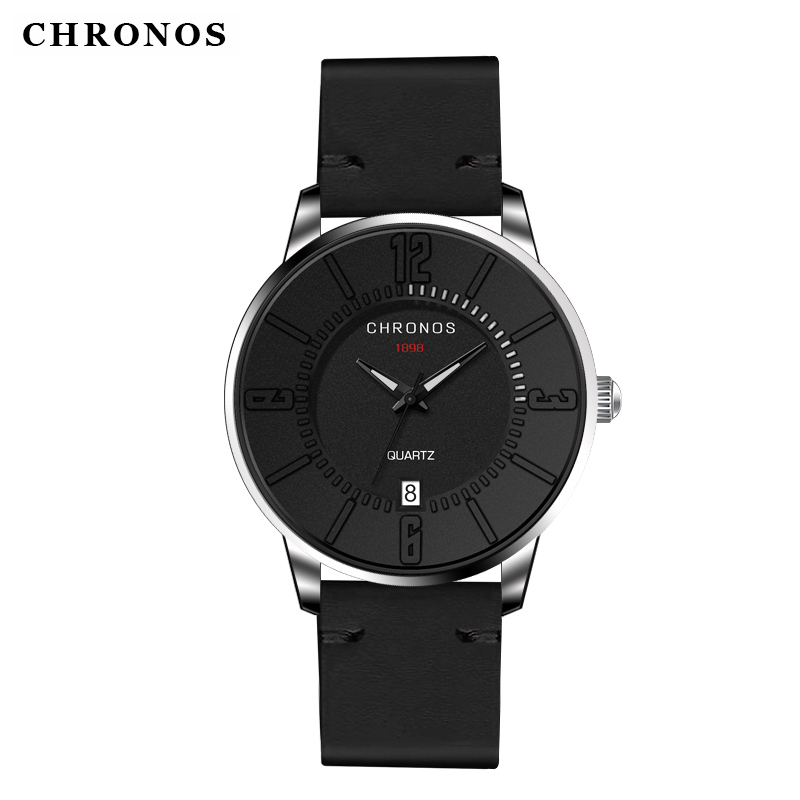 CHRONOS Men Watches  Sport Watches for Men Casual Quartz Wristwatches  Relogio Masculino Clock Men Montre Homme