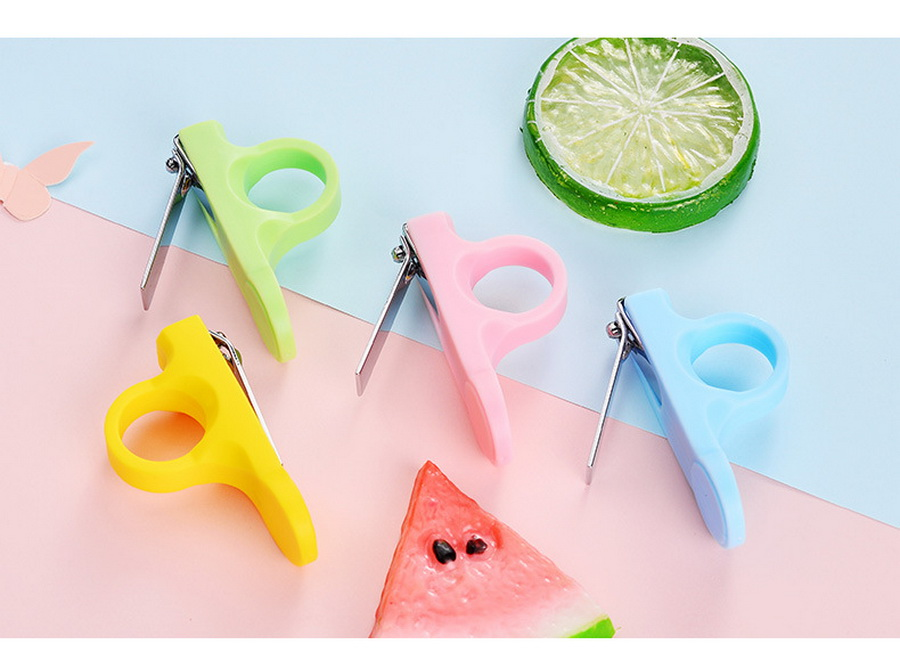 Hearty Dhl 500pcs Baby Nail Clipper Cute Infant Finger Trimmer Clou Baby Clippers Scissors Baby Nail Care Nail Cutters Aesthetic Appearance