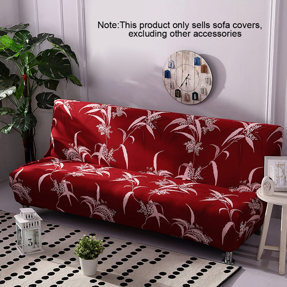 160-190cm  Folding Stretch Big Elasticity Couch Cover Cheap Universal Sofa Cover Sofa Without Armrest Folding Cover For Sofa Bed