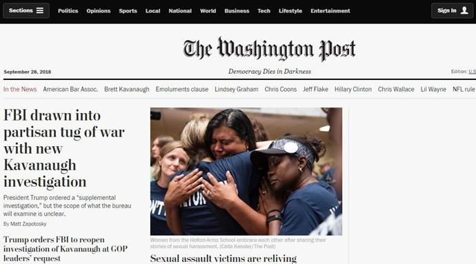 华盛顿邮报