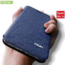 For xiaomi mix2s case xiaomi mi mix2s case flip leather Mofi for xiaomi mix 2s case silicon TPU funda xiaomi mi mix 2s case 5.99