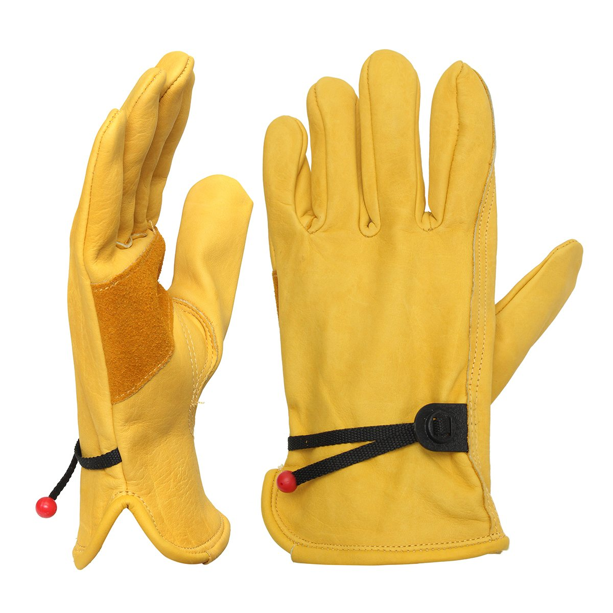 NEW Safurance one Pair Yellow Driver Security Protection Wear Safety Workers Welding Moto Gloves Workplace Safety new safurance pro tree carving fall protection rock climbing equip gear rappelling harness workplace safety