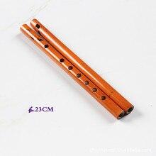 1 шт. Китайская традиционная 6 отверстий бамбуковая флейта Вертикальная флейта кларнет студенческий музыкальный инструмент деревянный цвет