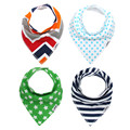 Babies Bibs Babetes Boy Girl Bandana New Arrival 100% Cotton Newborn Bibs Cartoon Triangle Baby Bib Waterproof Toalha Infantil