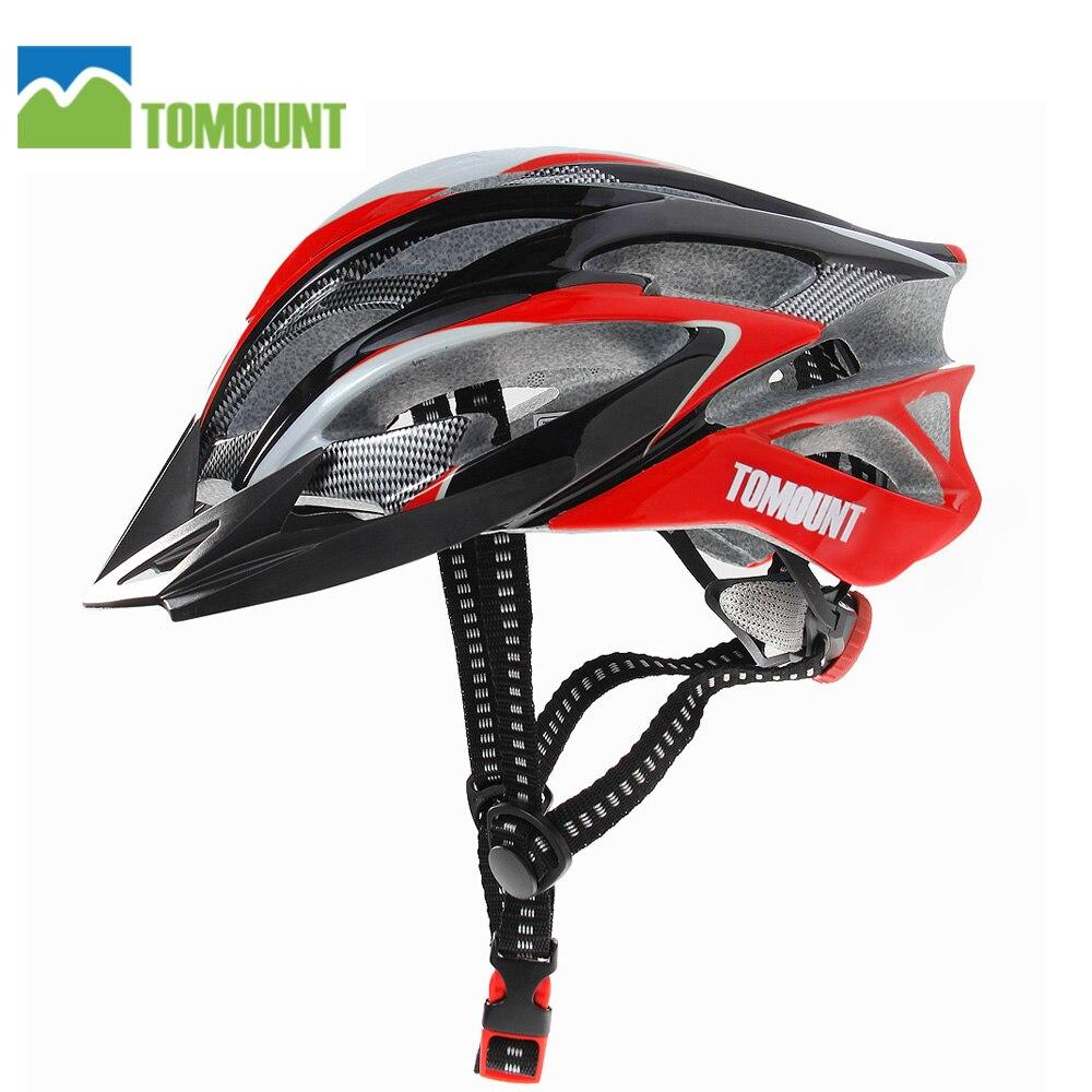 Tomount Helm Bersepeda Ultralight Mtb Sepeda Balap Pria Wanita Cantik Casco Ciclismo 58 63 Cm 4 Warna Merah Oranye Di Dari Olahraga