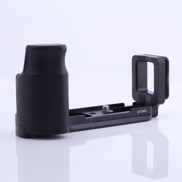 L-Shaped Vertical Shoot Tripod Ball head Camera Bracket Holder/Hand Grip/Quick Release Plate for Olympus OMD EM5