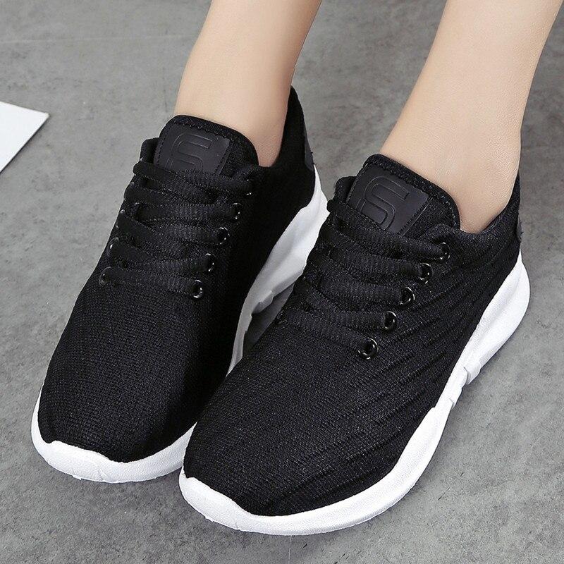 Buty wulkanizacyjne Damskie buty sportowe Siatkowe buty dla kobiet - Buty damskie - Zdjęcie 6