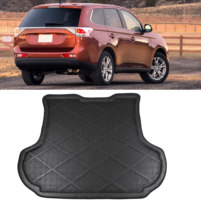 Home Have An Inquiring Mind Hsanzeo Boot Liner Rear Trunk Mat Cargo Tray Floor Carpet Protector For Mitsubishi Outlander 2nd Gen.mk Ii 2007-2012 08 09 10 11