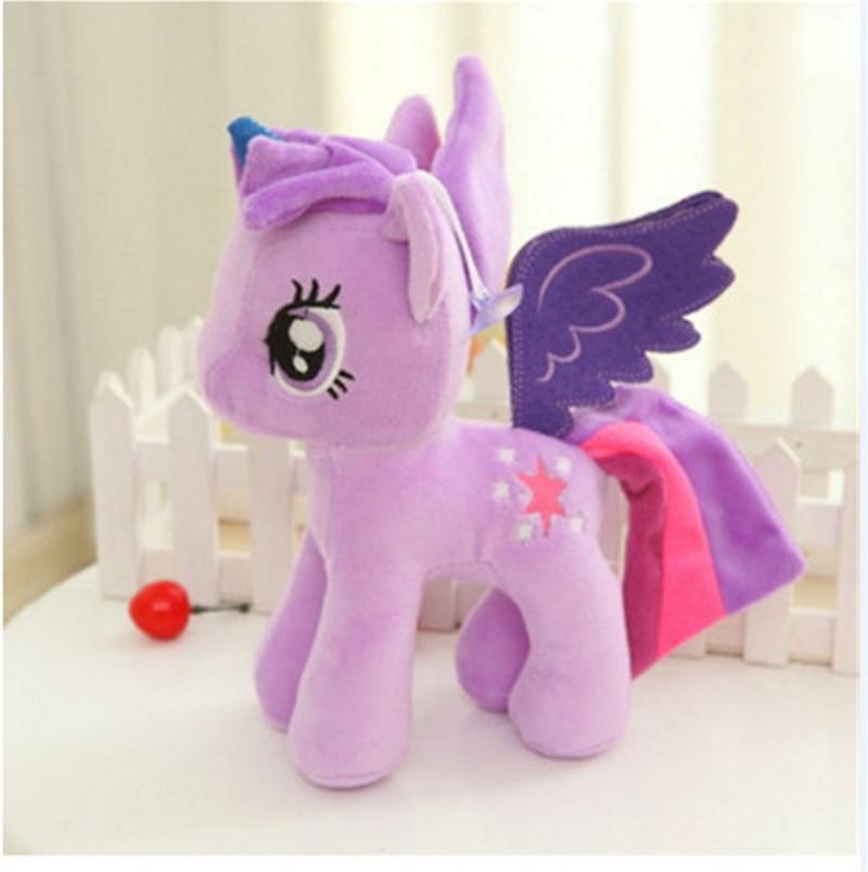 Plush Animal Unicorn Horse Stuffed Animals Toys Baby Infant Girls Toys Birthday Gift Rainbow licorne5