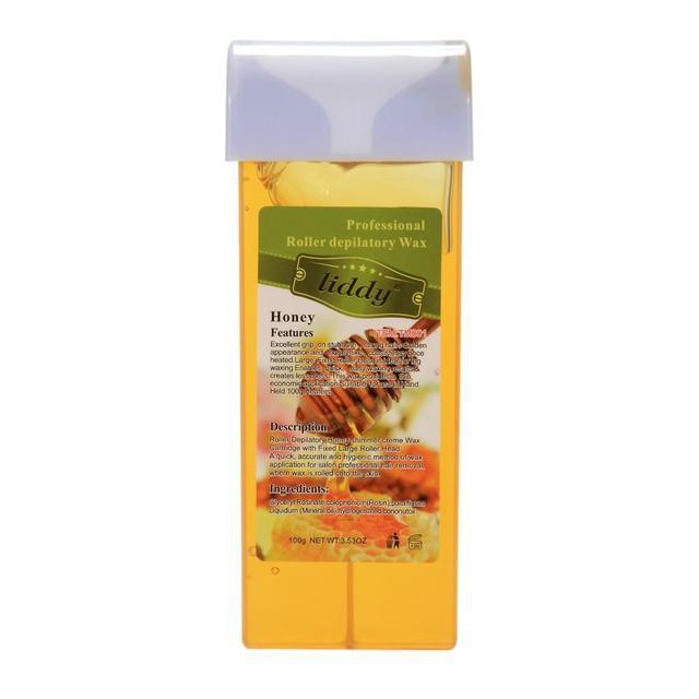 100 جرام العسل رائحة السكر الشمع إزالة الشعر المهنية استخدام المياه للذوبان مزيل السكر الشمع خرطوشة الصبح مع رائحة طيبة