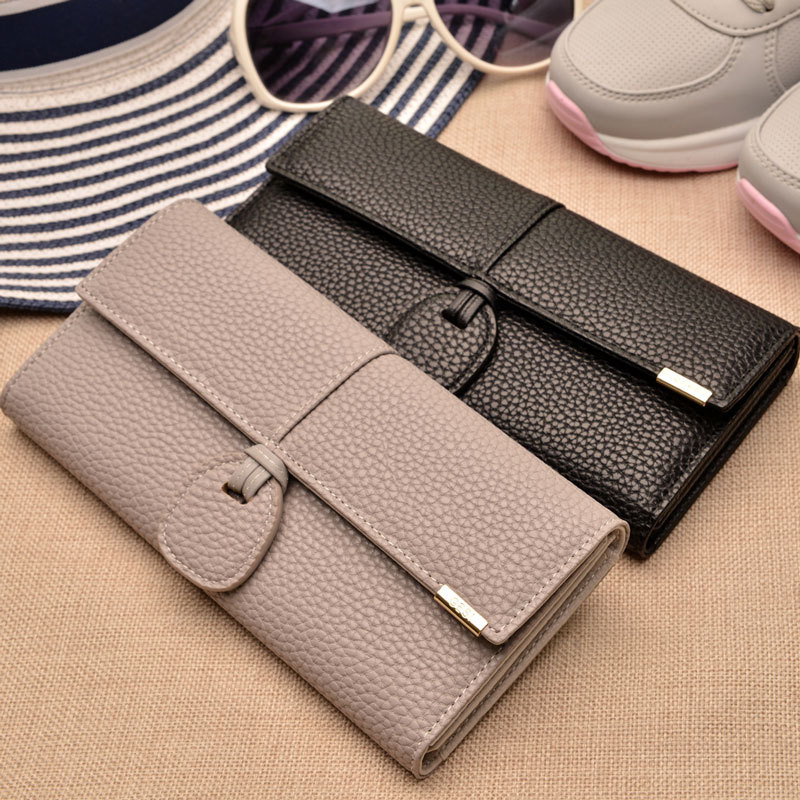 2019 New Desig Leather Wallet Women Luxury Brand Purses Woman Wallet Long Hasp Female Purse Card Holder Clutch Feminina Carteira