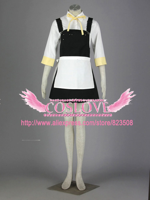 High Quality Custom Made Alice Human Sacrifice 2nd Rin Kagamine cosplay  Costume from Vocaloid Holloween Plus