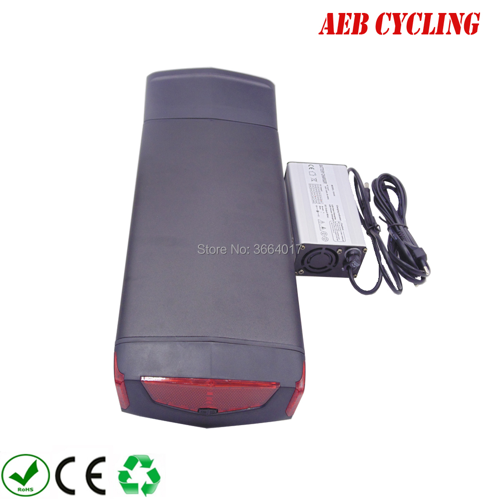 Refurbished Offer of  EU US no taxes free shipping 36V 10Ah RB3 rear rack battery Li-ion rechargeable battery pack for eb