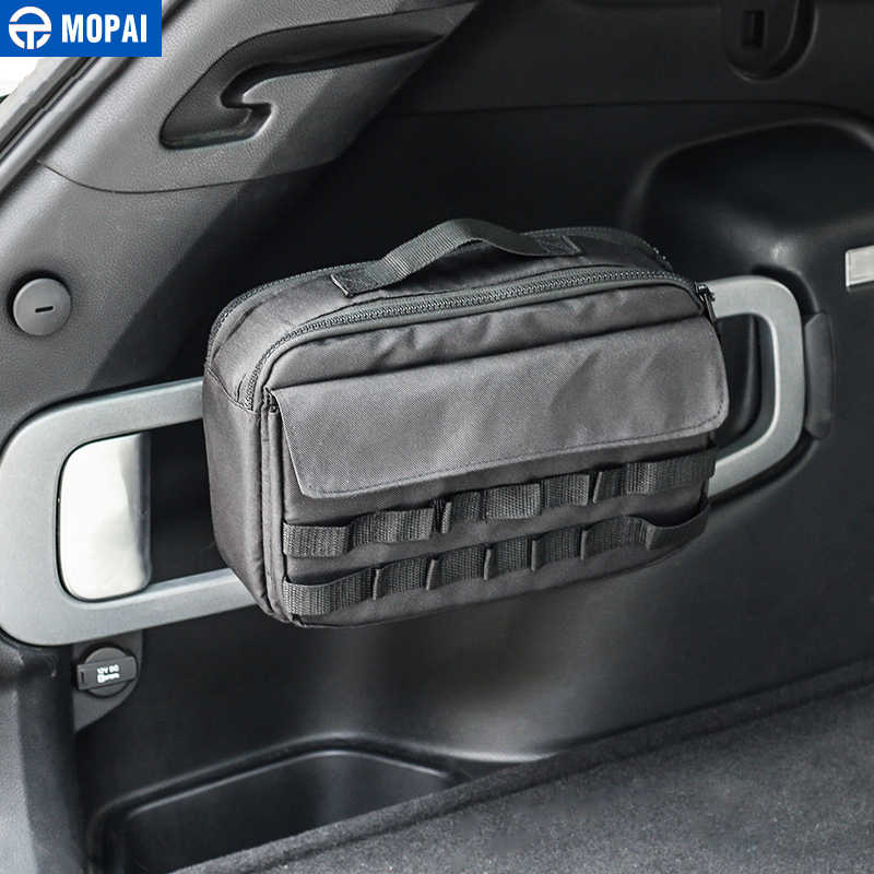 Outdoor Car Storage >> Mopai Car Accessories Outdoor Sports Travel Camping Home Tool Kit Storage Bags For Jeep Wrangler Cherokee Series Car Styling