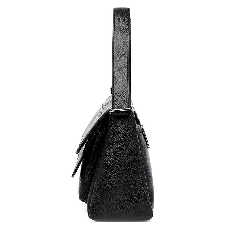 2019 New Crossbody Bags for Women Soft Leather Luxury Handbags Women Bags Designer Ladies Hand Bags Sac A Main Femme in Shoulder Bags from Luggage Bags