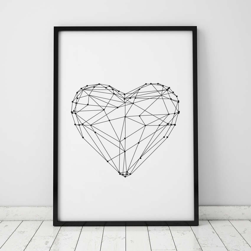 Drawing Lines With Canvas : Aliexpress buy nordic minimalist typography abstract