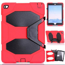 3 in 1 Hybrid Stand Case Cover For apple ipad 2/3/4 Shockproof Waterproof Case for Kids Children