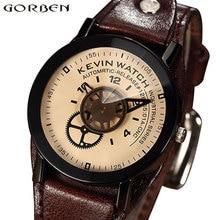 Винтаж Уникальный творческий унисекс часы Специальный дизайн промышленных шестерни циферблат модные часы для мужчин для женщин…
