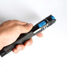Ücretsiz Kargo 1 mw Işık Fiber Optik Kablo Test Cihazı Fiber Optik Görsel Hata Bulucu Checker 1 5 KM
