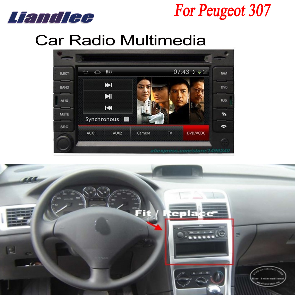 Car Android For Peugeot 307 2004~2013 GPS Navigation Radio TV DVD Player Audio Video Stereo Multimedia System liislee android gps navigation system for toyota hiace haise h2 regiusace 2004 2013 radio audio multimedia no dvd player