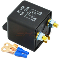 12V 24V 120A 4Pin Car Truck Motor Automotive Relay Continuous Type Automotive Switch Car Relay 2