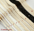 1YARD Good quality cotton lace for garment Laces trim Sewing accessories Scrapbooking lace Embellishment(ss-865)