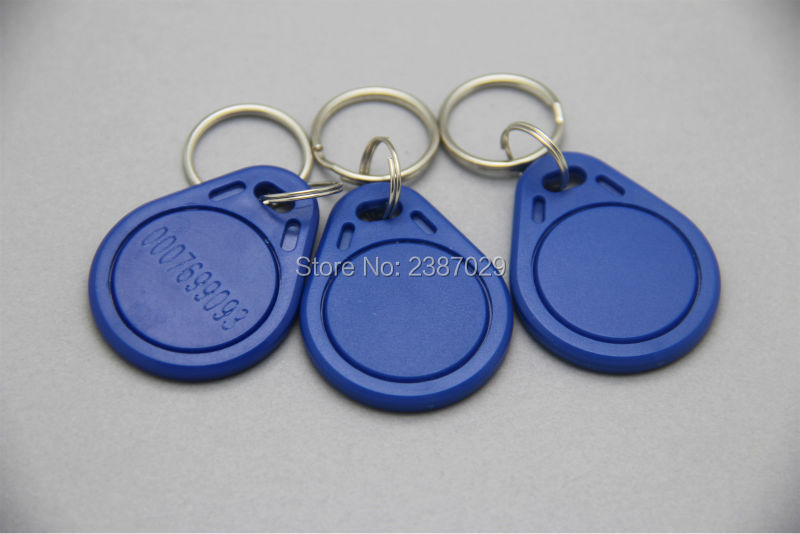 ABS Waterproof Passive 13.56mhz Contactless Proximity NTAG215 RFID Keyfob Tags NFC Keychains 20pcs/lot waterproof contactless proximity tk4100 chip 125khz abs passive rfid waste bin worm tag for waste management