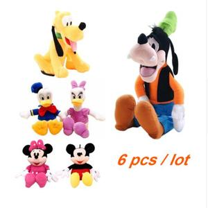 6pcs/lot Mickey and Minnie Mou