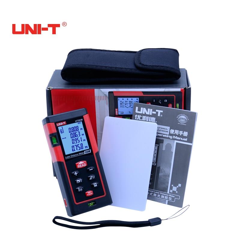 UNI-T Digitale rangfinder Laser range finder 40 M/60 m/80 m/100 m/120 m/150 m laser distance meter misura di nastro trena laser