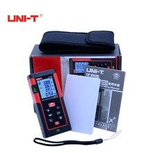 Sale UNI-T Digital Laser rangfinder range finder 40M/60m/80m/100m/120m/150m laser distance meter tape measure trena laser