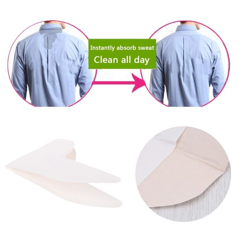 8 X Summer Collar Disposable T-shirt Sweat Armpit Pads Absorbing Anti Deodorant