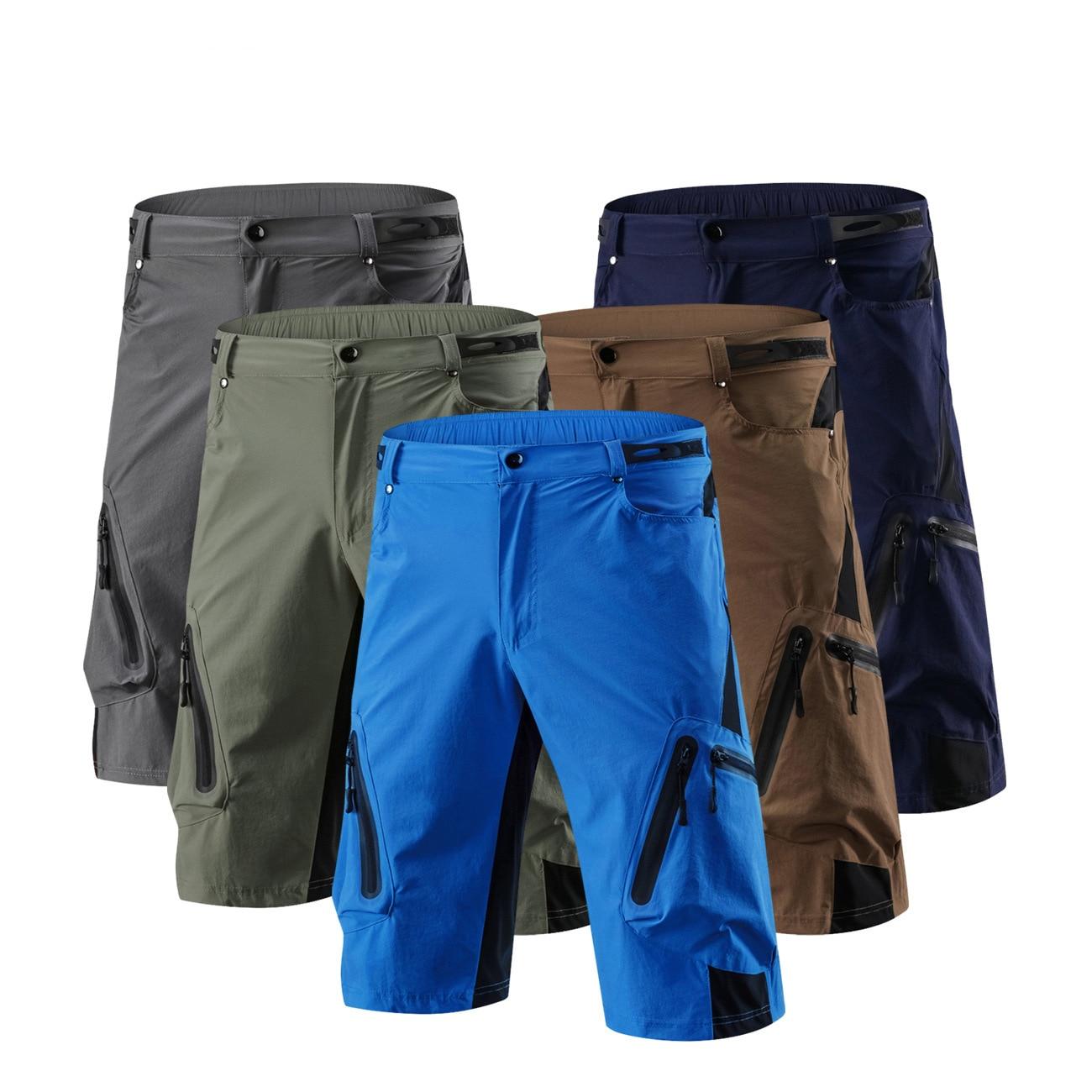 Men's Sports Cycling Shorts Downhill MTB Mountain Bike Bicycle Shorts Breathable M-4XL Mountain Bike Hiking Short Trousers