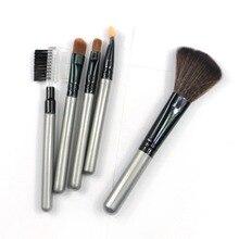 5 шт. макияж румяна тени для век леопарда кисти Lipstic косметический комплект кистей инструменты(China (Mainland))