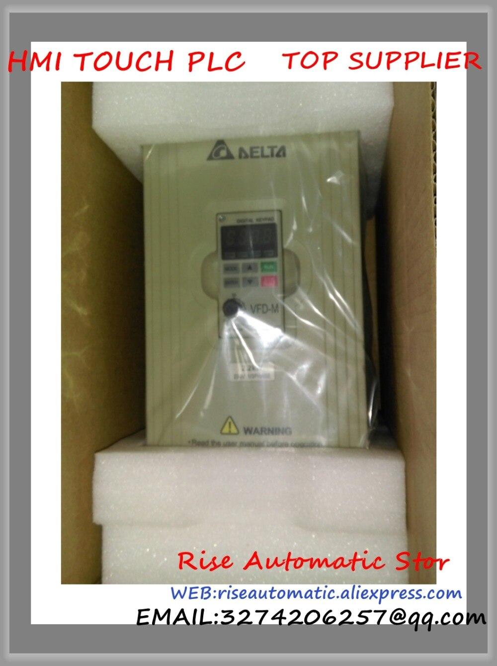 VFD M Inverter AC motor drive 1 phase 220V 2 2Kw 3HP 10A 400HZ new VFD022M21A