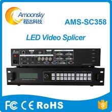 Multi Processador de Imagem de Emenda da Cor Cheia de Exibição Controlador de Processador De Vídeo 4 K Levou Splicer