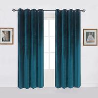 Cortinas de veludo modernas  cortinas de veludo sólidas para o quarto  sala de estar  tamanho personalizado  persianas  cortinas acabadas  janela