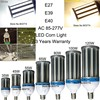 80w Led Corn Light 5730 Chip E40 Mogul Led Bulb Aluminum Fins Heat Sink Repalce CFL