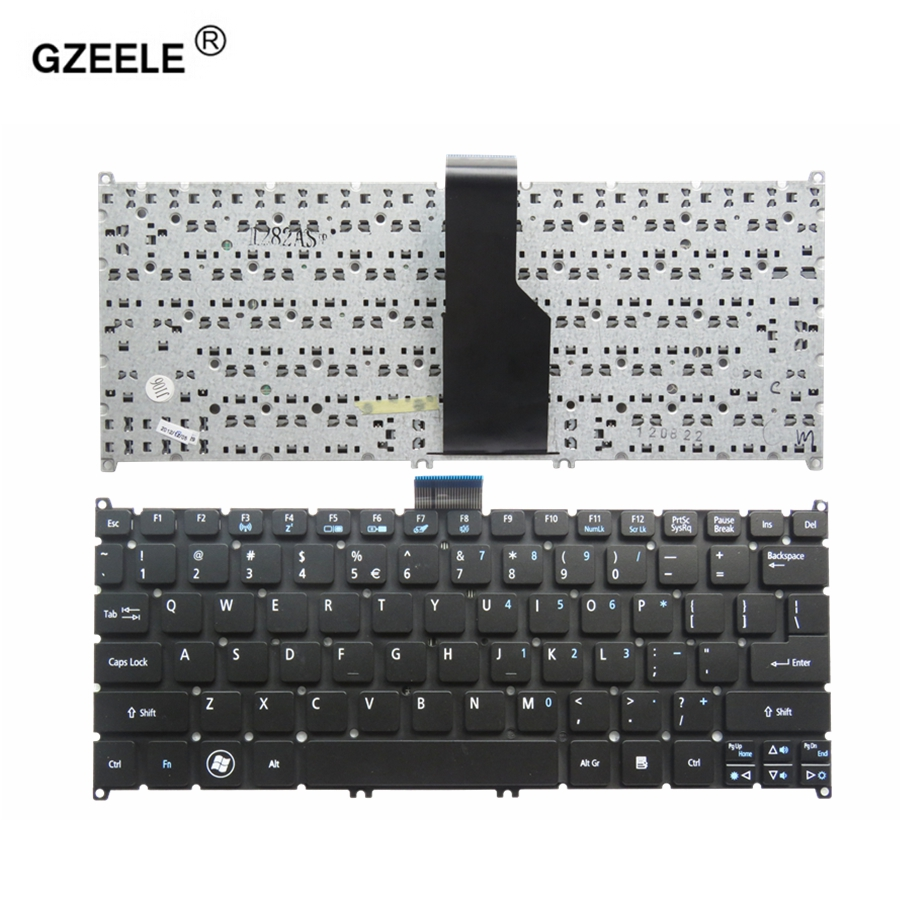 GZEELE US Laptop Keyboard For ACER Aspire S3 S3-391 S3-951 S3-371 S5 S5-391 One 725 756 V5-171 Travelmate B1 B113 B113-E B113-M
