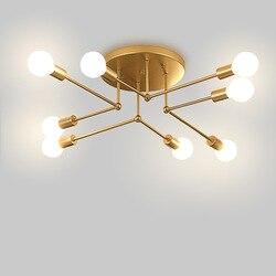 Nowoczesne LED żyrandol podsufitowy oświetlenie salonu sypialni żyrandole kreatywnych oprawy oświetleniowe do domu AC 90-265V darmowa wysyłka